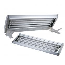 Boyu PLF60 - Calha de iluminação 4 x 24W T5