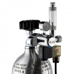 BLAU Regulador Duplo de CO2