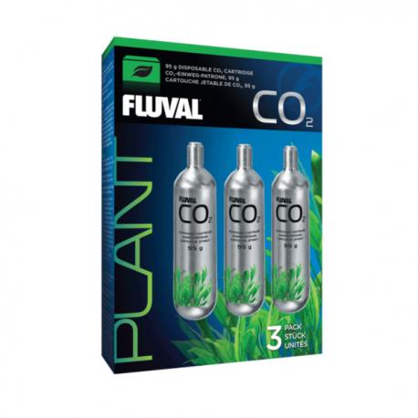Fluval Botija CO2 3 x 88gr