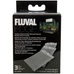 Fluval Edge Carvão Activo 3 x 45gr