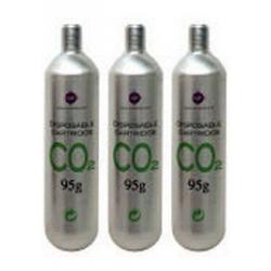 Tecatlantis 3 Recargas CO2 95gr