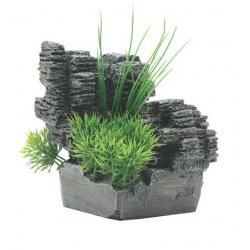 Fluval Chi Deco- Rocha com plantas