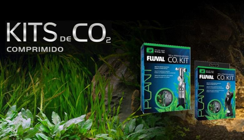 Fluval Kit de CO2 e acessórios para o melhor desenvolvimento da plantas do seu aquário