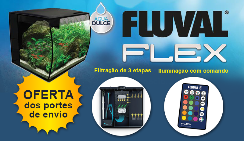Fluval Flex kit aquário
