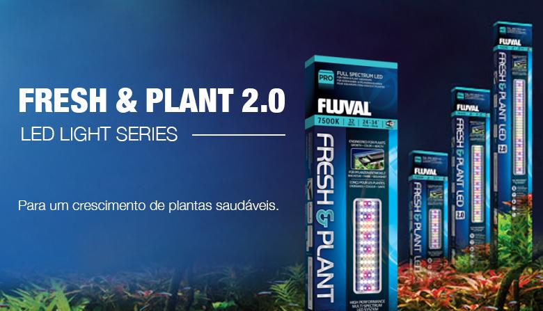 Iluminação Led Fluval Fresh&Plant